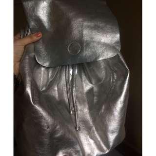 H&M sliver backpack