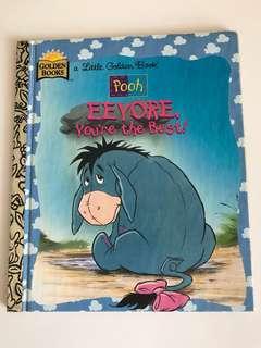 Pooh - Eeyore, You're The Best - Little Golden Book