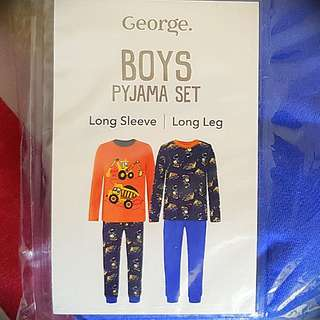 New george 2 packs pyjamas (1-1.5 years)