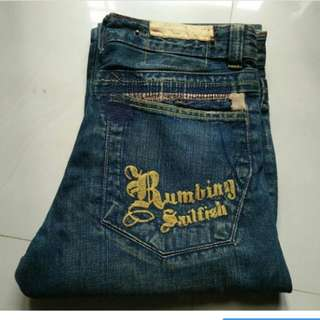 Tough Jeans Original Blue Wash