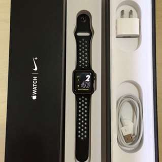 Apple Watch Nike+ / iWatch Series 2 38mm Space Black Aluminum Case