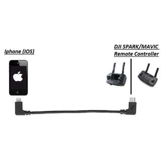 [$20] [FREE POSTAGE] DJI OTG Cable Remote Controller for Iphone/Ipad [ 1 left ]