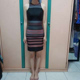 Stripes Block Dress