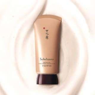 BNIB Sulwhasoo Timetreasure Extra Creamy Cleansing Foam 120ml