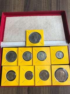 UK 1950 Coin Set