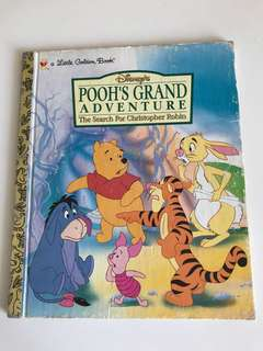 Pooh's Grand Adventure - The Search For Christopher Robbin - Little Golden Book