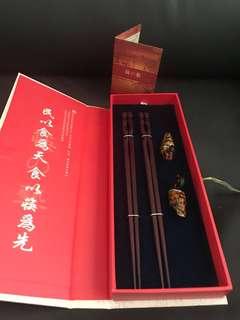 Original Redwood chopstick from Hong Kong