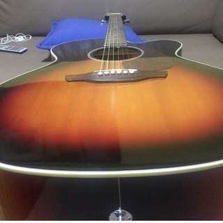 Takamine Jumbo acoustic guitar
