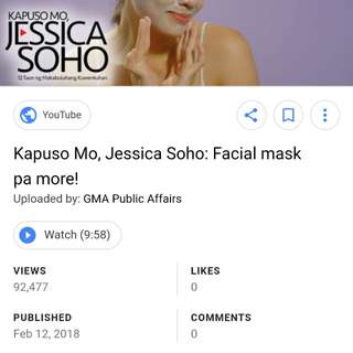 INDIAN AZTEC CLAY FEATURED in KAPUSO MO JESSICA SOHO