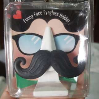 Funny Face Eyeglass Holder