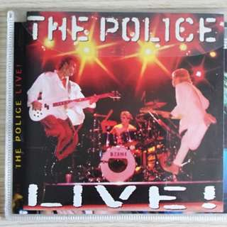 The Police Live bootlegs 2CD