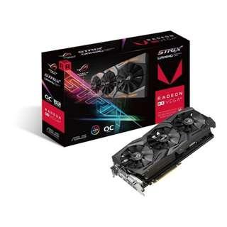 Asus ROG Strix RX VEGA64 OC edition 8GB