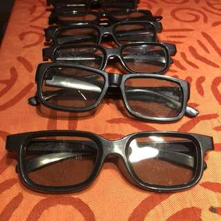 REAL D 3D Cinema Glasses (for UA, AMC, all HK TheatreCinemas)