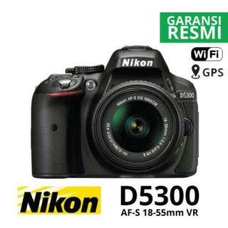 Nikon D5300 Bisa Dicicil Tanpa Kartu Krediy