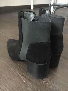 ZARA WOMEN BLACK BOOTS WINTER AUTUMN EDITION