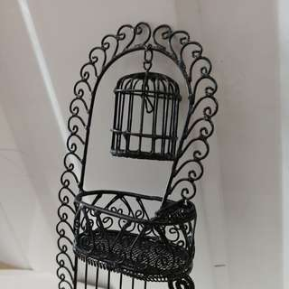 miniature cage for earrings or display