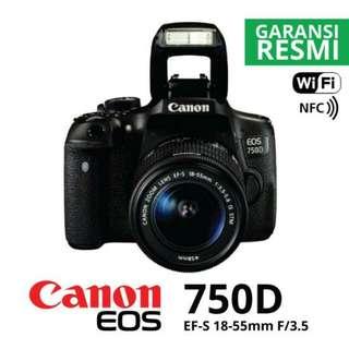 Canon 750D Bisa Dicicil Tanpa Kartu Kredit