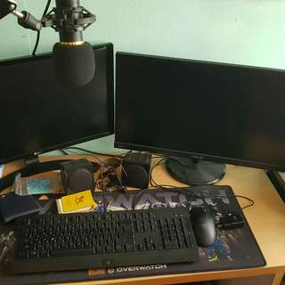 Computer Set & Office Chair for sale