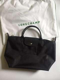 Black long Champ handbag