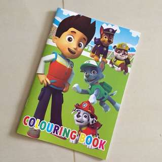 $1.20 Paw patrol Colouring book