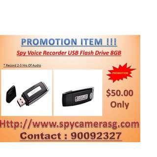 Audio Recorder Thumbdrive  8GB