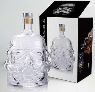 Star War黑武士酒瓶 650ml