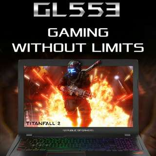 Laptoo Asus ROG Strix GL553 Bisa Dicicil Bunga 0%