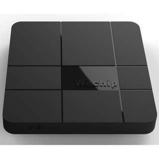 LATEST PORTABLE BRAND NEW ANDROID BOX 🤖 Amlogic s905w wechip V8 android 7.1 quan core 1gb/8gb 14k tv box