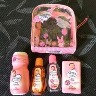 Cussons gift set mini