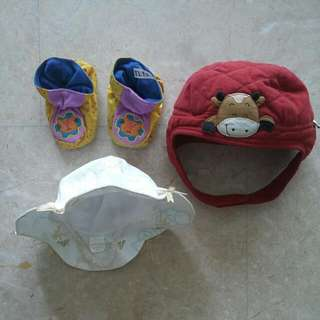 Baby Hats And Shoes