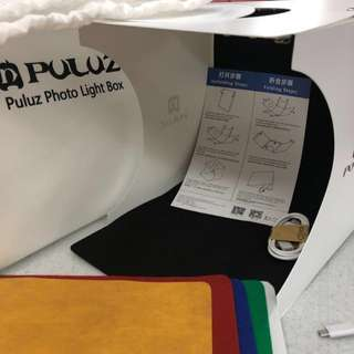 Brand New Puluz Brand Photo Lightbox With Dual Led Light for increase brightness