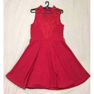 PRE-LOVED Red dress