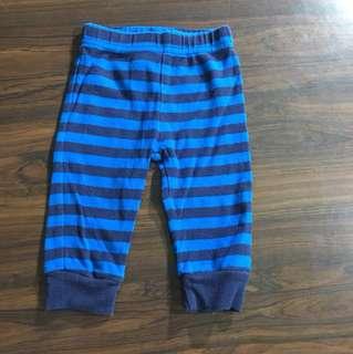 Carters Blue Black Stripes Trousers