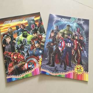 $1.20 ++ marvel avenger coloring book