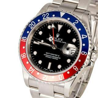 Rolex GMT-Master 16710 Pepsi Full Set (麥隆)