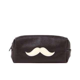Typo Moustache pencilcase