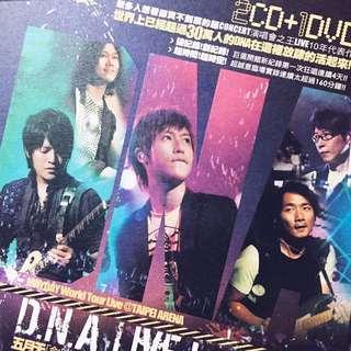 五月天 MAYDAY D.N.A LIVE CD DVD