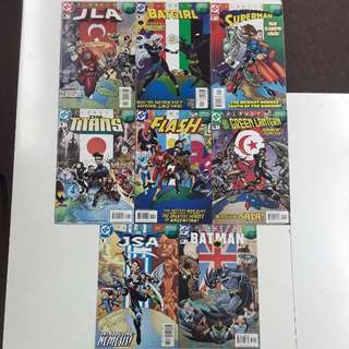 Planet DC Annuals Comics Set