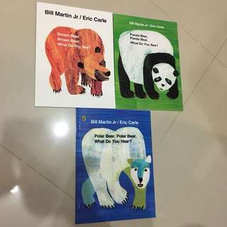 $5.9 Eric Carle -Brown Bear What Do You See