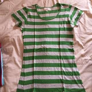 Stripes green