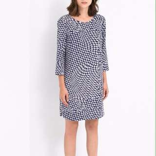 Mango shift dress. Blue. XS/S