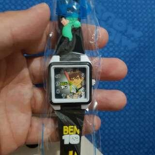 Jam tangan anak ben 10