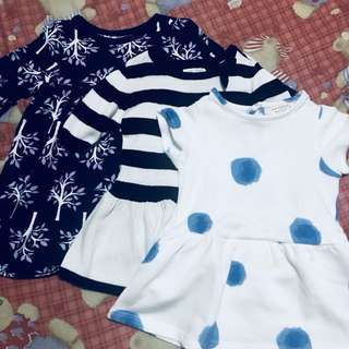 Take all for Php 500. In very good condition. Note: Size is for 12-18 mos. but depends on the baby's size