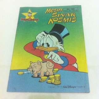 Walt Disney Donal Bebek No.539 tahun 1992