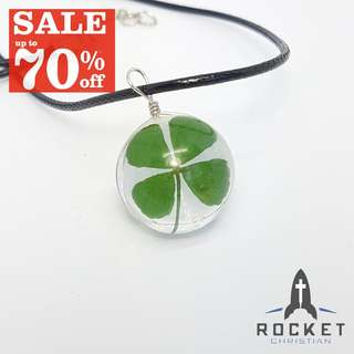 Four-leaf clover necklace *Blessing