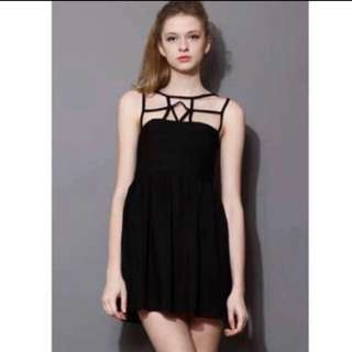🔺BN🔺Caged Skater Dress