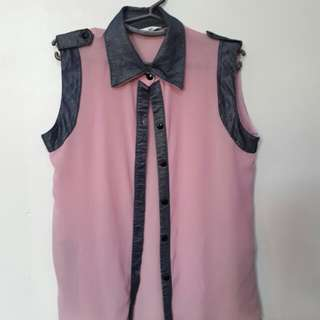 Pink top for women