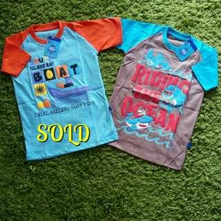 Kaos Anak OKBG Raglan for Boy Size 6 Th