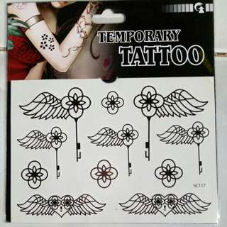 Waterproof Temporary Henna Tattoo