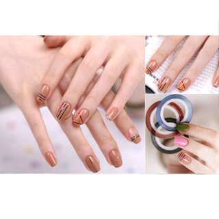 NAIL ART STRIPPING STICKERS